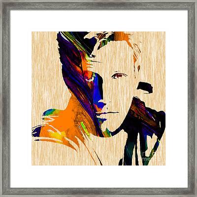 Ben Affleck Collection Framed Print