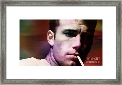 Ben Affleck Framed Print by Marvin Blaine
