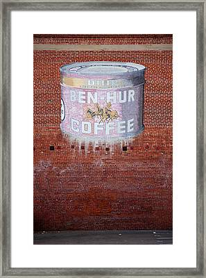 Ben Hur Coffee Framed Print by Peter Tellone