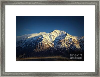 Ben Lomond Peak-utah Framed Print