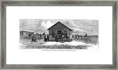 Bender Murders, 1873 Framed Print by Granger