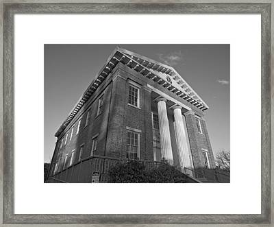 Benicia State Capitol Framed Print