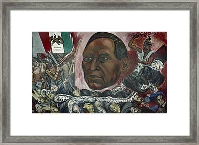 Benito Juarez (1806-1872) Framed Print