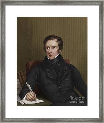 Benjamin Collins Brodie, English Chemist Framed Print