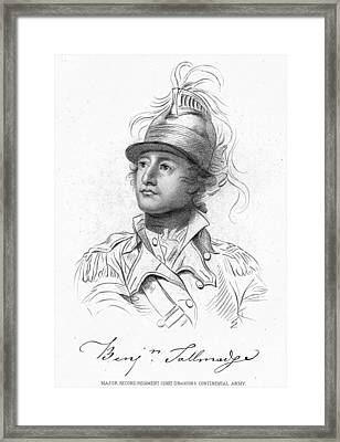 Benjamin Tallmadge Framed Print