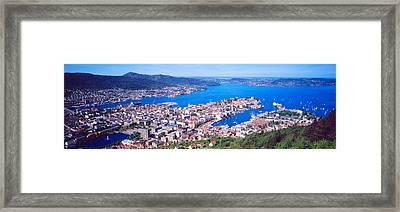 Bergen Norway Framed Print