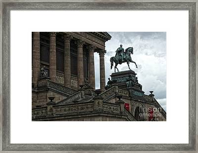 Berlin - National Gallery Framed Print by Gregory Dyer