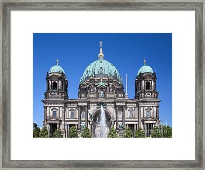 Berlin Cathedral Framed Print by Michal Bednarek