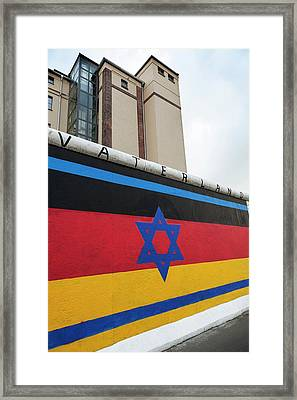 Berlin Wall Framed Print by Ton Kinsbergen