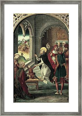 Berruguete, Pedro 1450-1504. Saint Framed Print by Everett