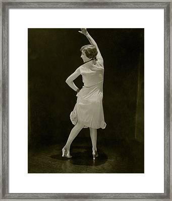 Bessie Love Dancing Framed Print
