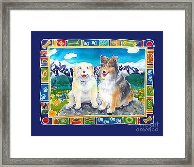 Best Friends Forever Framed Print by Harriet Peck Taylor