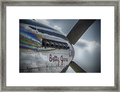 Betty Jane Framed Print