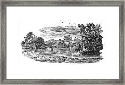 Bewick Landscape Framed Print