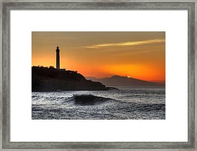 Biarritz Framed Print by Karim SAARI