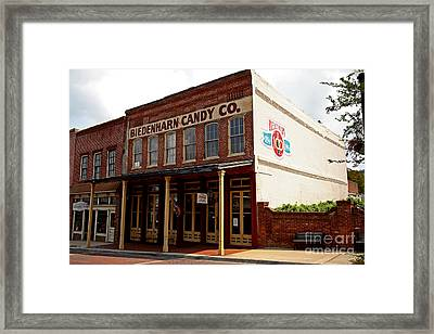 Biedenharn Candy Co Framed Print by Russell Christie