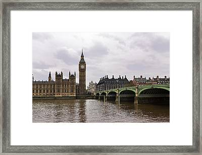 Big Ben Framed Print by Andres LaBrada