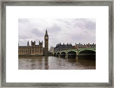 Big Ben Framed Print by Andres LaBrada