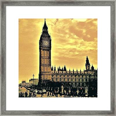 Big Ben!! Framed Print