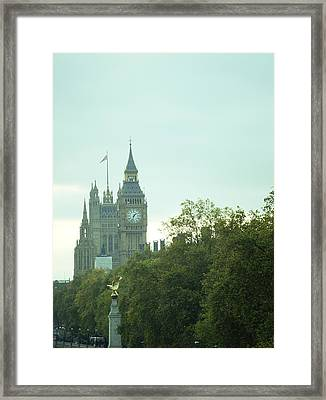 Framed Print featuring the photograph Big Ben by Rachel Mirror