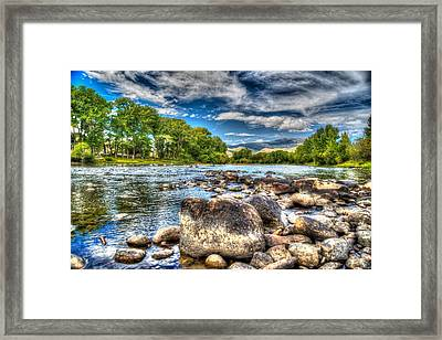Big Hole River Divide Mt Framed Print