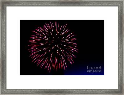 Big Red Framed Print by Robert Bales