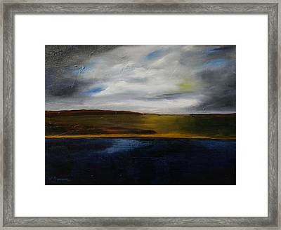 Big River Framed Print