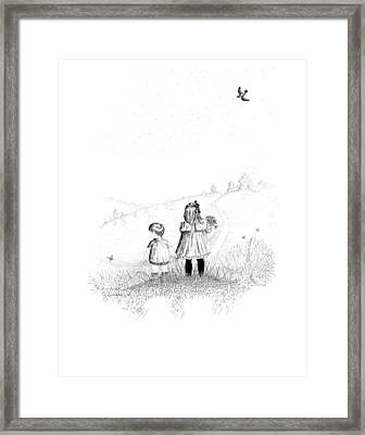 Big Sister Framed Print