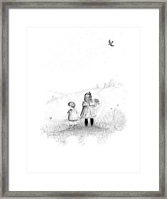 Big Sister Framed Print by Carl Genovese