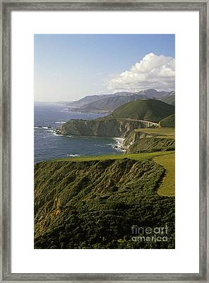 Big Sur Highway 1 Framed Print by Jim Corwin