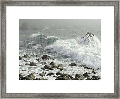 Big Sur Framed Print by Justin Moranville