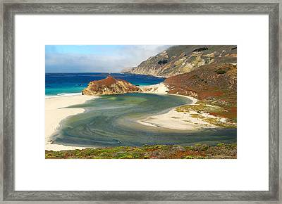Big Sur Framed Print by Mamie Gunning