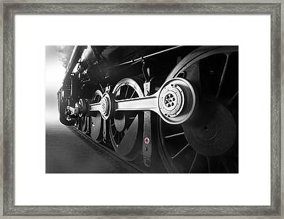 Big Wheels Framed Print