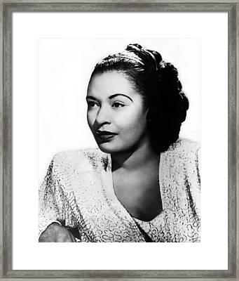 Billie Holiday Framed Print