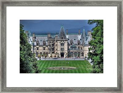 Biltmore House Framed Print