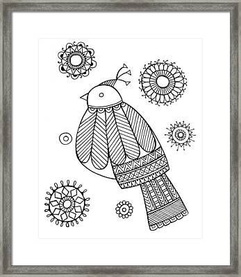Bird Dove Framed Print