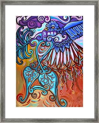 Bird Heart I Framed Print by Genevieve Esson