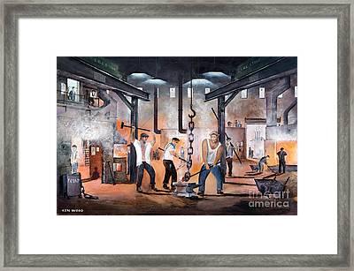 Black Country Heritage Framed Print