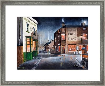 Black Country Village Centre Framed Print