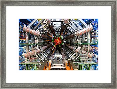 Black Hole Event Framed Print
