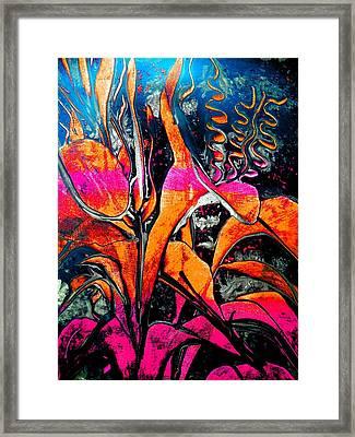Black Moments Framed Print by Nico Bielow