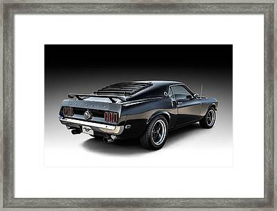 Black Stallion Framed Print by Douglas Pittman