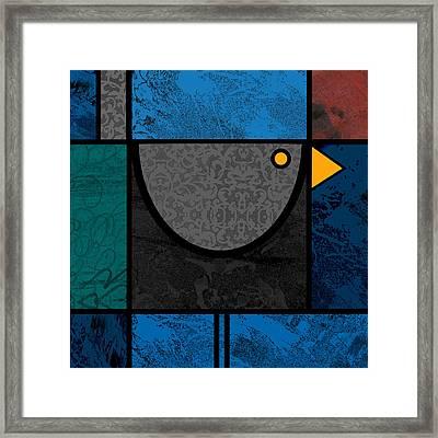Blackbird Framed Print by Kenneth North