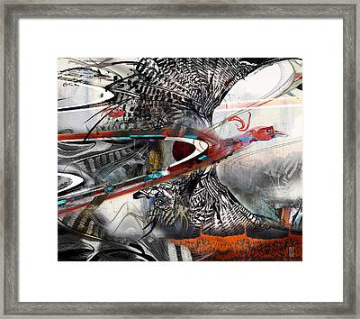 Blacksburg Flight Framed Print by Revere La Noue