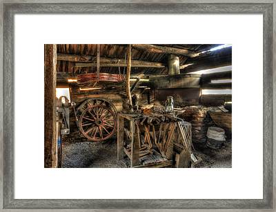 Blacksmith Shop Framed Print