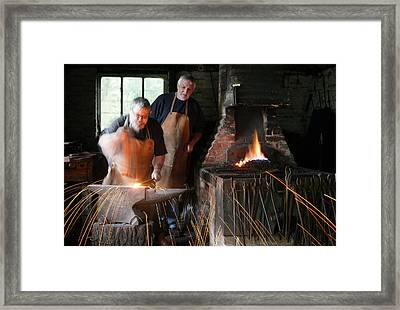 Blacksmith Framed Print by Stephen Norris