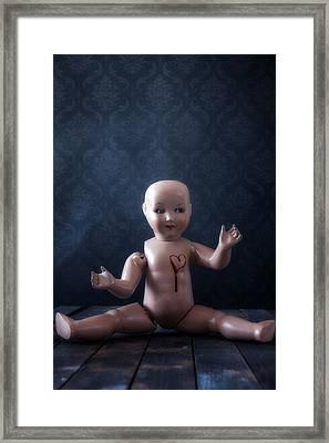 Bleeding Heart Framed Print by Joana Kruse