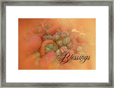 Blessings Framed Print by Ramona Murdock