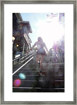 Framed Print featuring the photograph Blink by Nick David