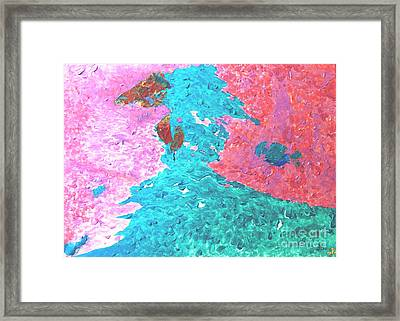Blissful Love Framed Print